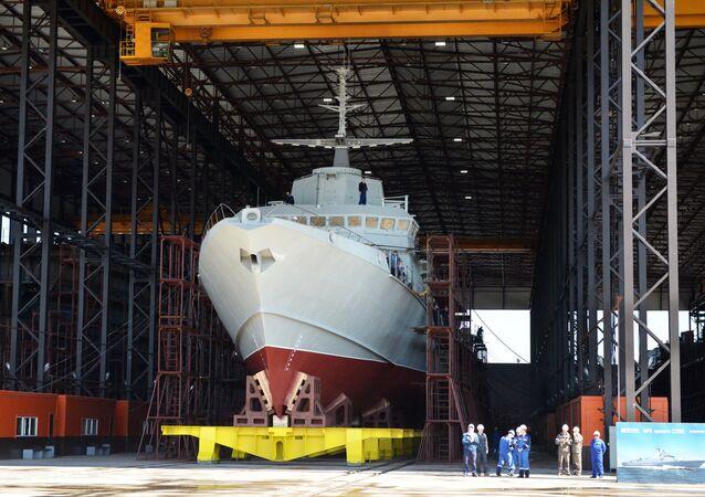 La piccola nave missilistica del progetto 22800 Karakurt