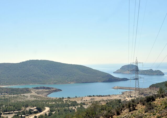 Una costa del Mediterraneo