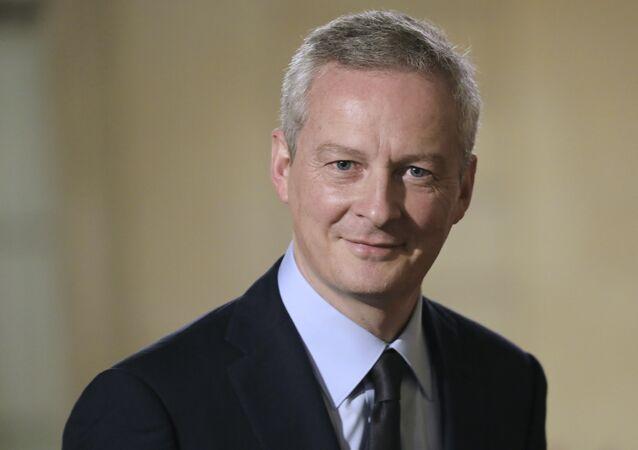 Bruno Le Maire, ministro Economia & Finanze della Francia