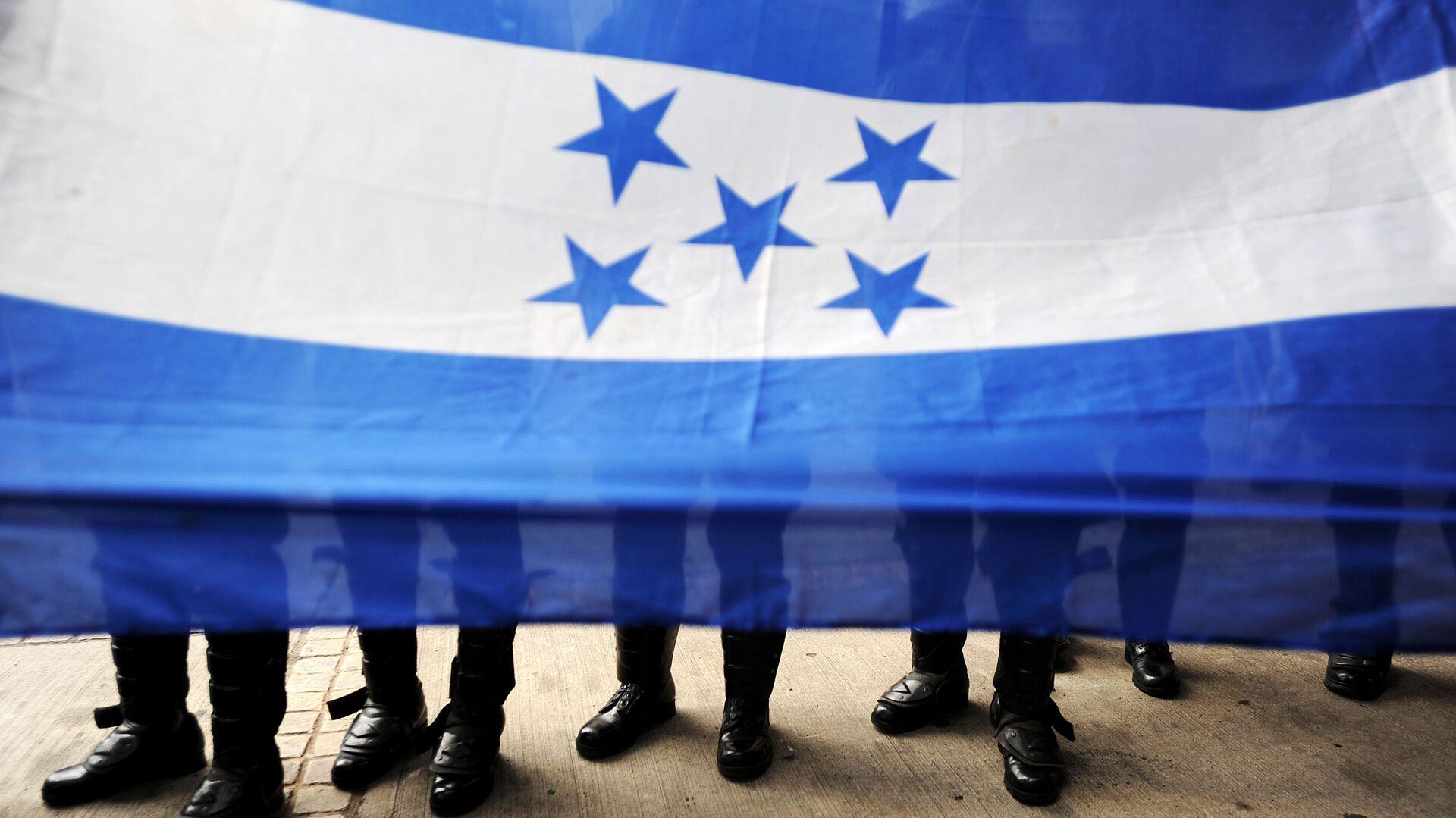 La bandiera dell'Honduras. - Sputnik Italia, 1920, 10.07.2021
