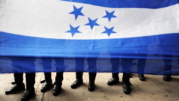 La bandiera dell'Honduras. - Sputnik Italia