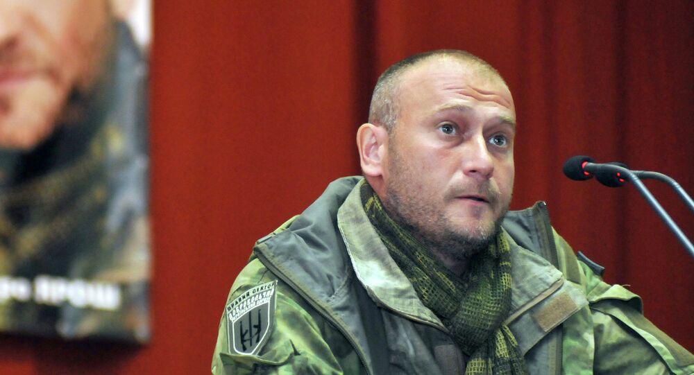 Dmitry Yarosh, leader Pravy Sektor