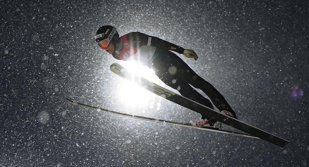 Лыжное двоеборье. Этап Кубка мира. Мужчины