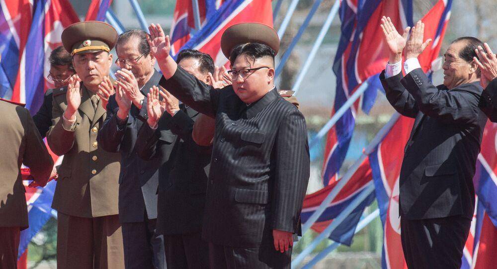 Leader nordcoreano Kim Jong-un (foto d'archivio)
