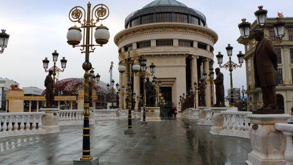 Skopje, Macedonia - Sputnik Italia