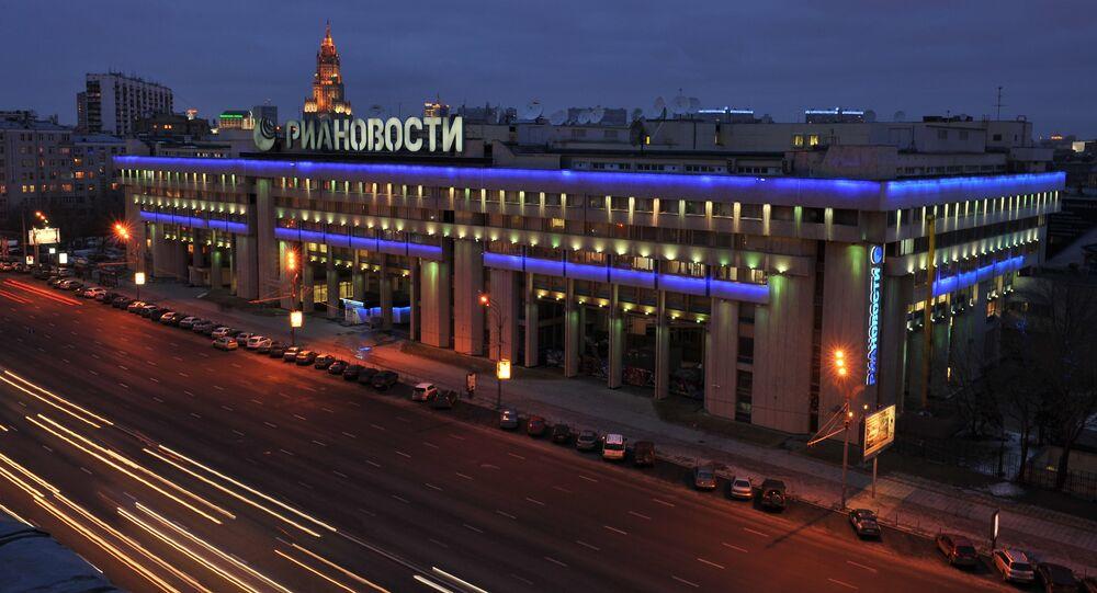 Sede del gruppo Rossija Segodnya