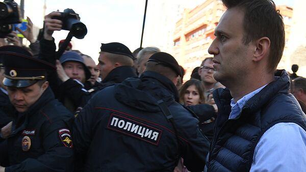 Alexei Navalny a una manifestazione (foto d'archivio) - Sputnik Italia