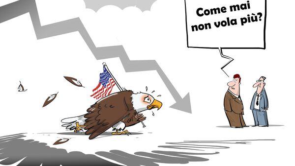 Con l'inizio della presidenza di Donald Trump l'atteggiamento dei paesi verso la politica e la leadership americana è sceso al minimo storico, lo testimoniano i risultati del sondaggio condotto da Gallup. - Sputnik Italia