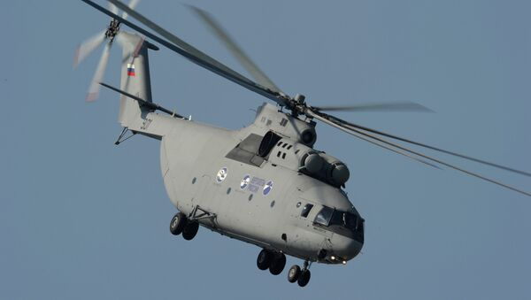 L'elicottero pesante multiuso Mi-26T2 - Sputnik Italia