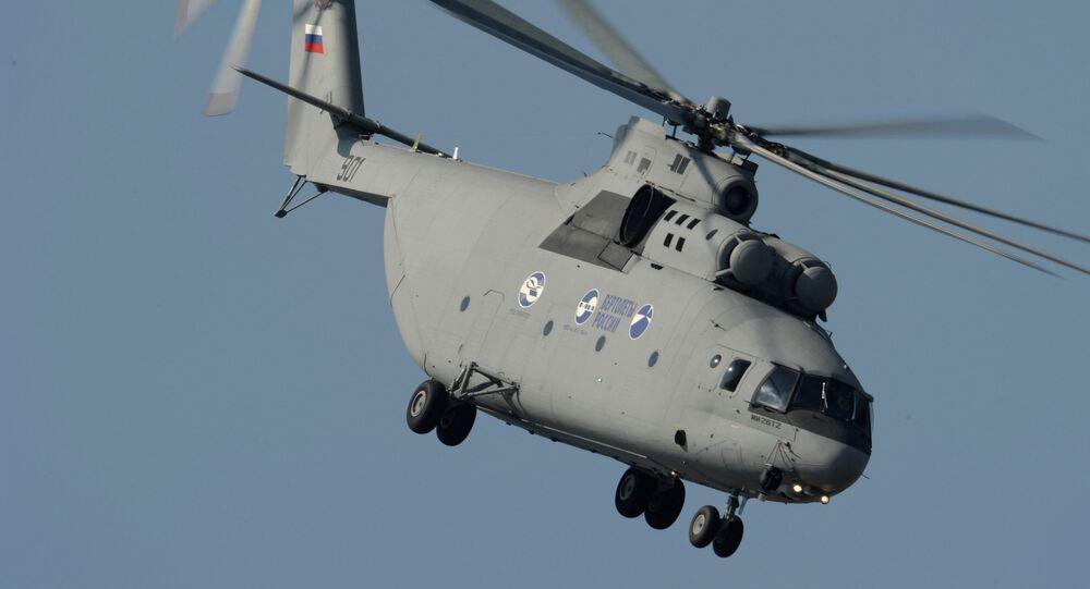 L'elicottero pesante multiuso Mi-26T2