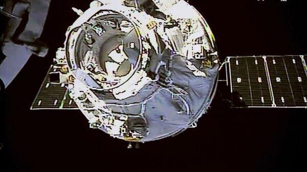 La stazione spaziale cinese Tiangong-1 - Sputnik Italia