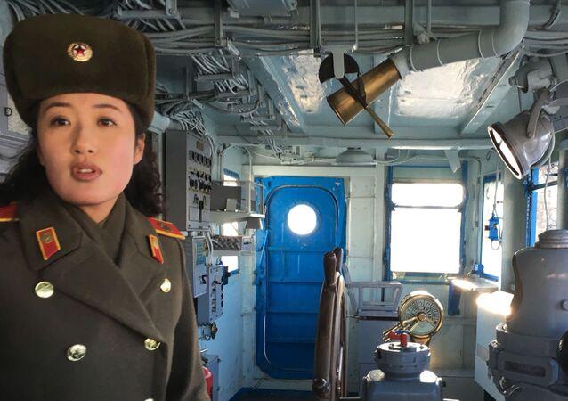 La nave spia americana Pueblo catturata in Corea del Nord