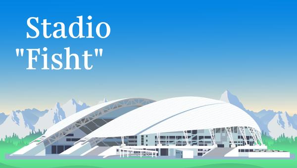 Stadio Fisht - Sputnik Italia