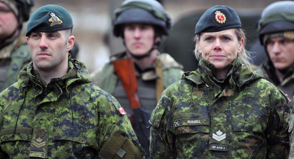 Istruttori militari canadesi