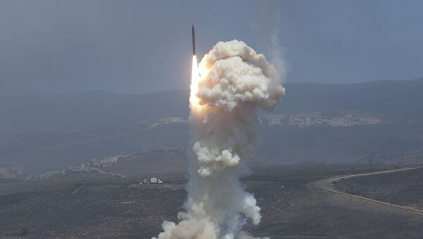 Испытания наземной системы противоракетной обороны США. Архивное фото - Sputnik Italia
