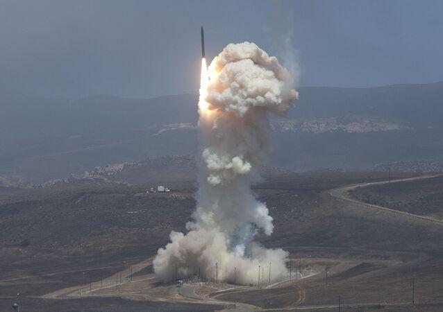 Test dello scudo anti-missile USA (foto d'archivio)