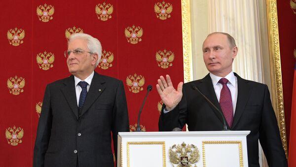 Putin e Mattarella - Sputnik Italia