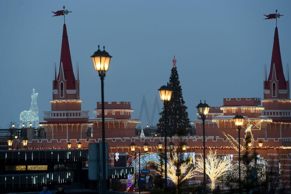 La vista del Cremlino di Kazan'