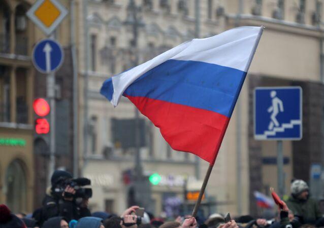 La bandiera russa