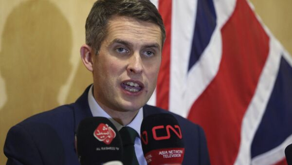 Ministro della difesa britannico Gavin Williamson - Sputnik Italia