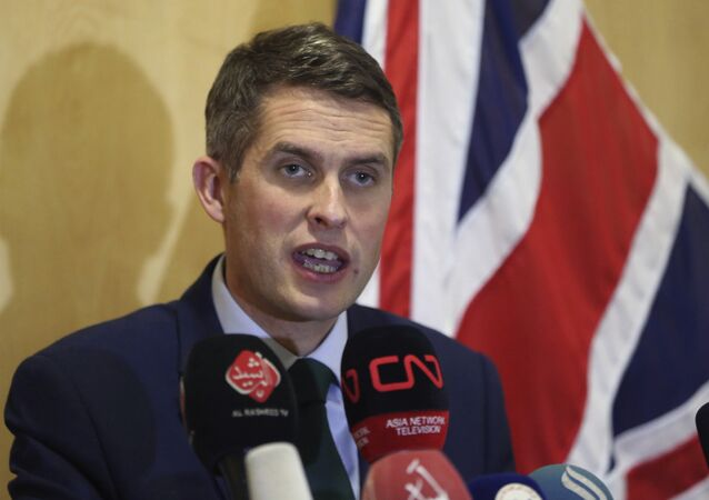 Gavin Williamson, ministro Difesa UK