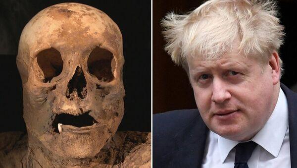 Ecco la mummia dell'antenata del ministro degli Esteri britannico Boris Johnson. - Sputnik Italia