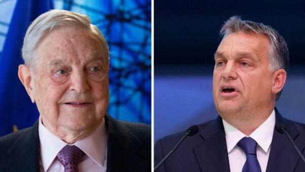 Orban e Soros - Sputnik Italia