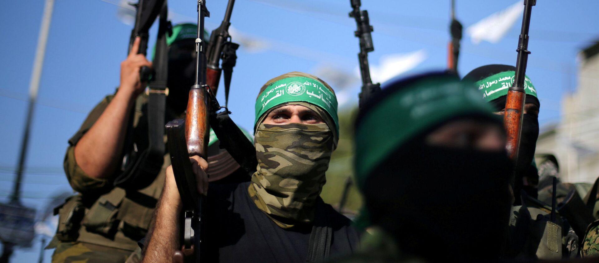 Militanti Hamas (foto d'archivio) - Sputnik Italia, 1920, 12.05.2021