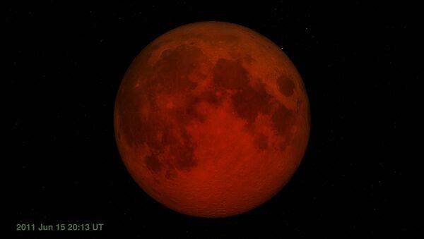 total lunar eclipse - Sputnik Italia