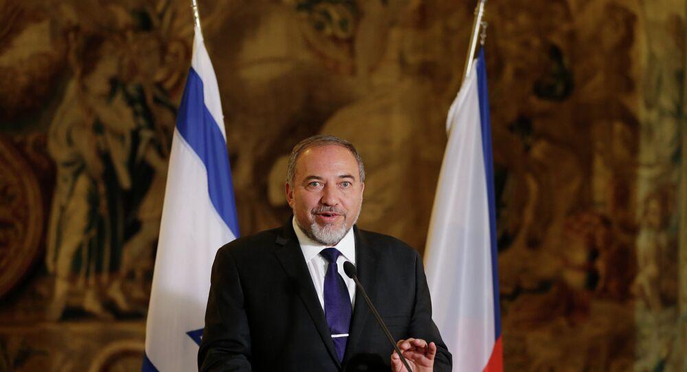 Ministro della Difesa israeliano Avigdor Lieberman