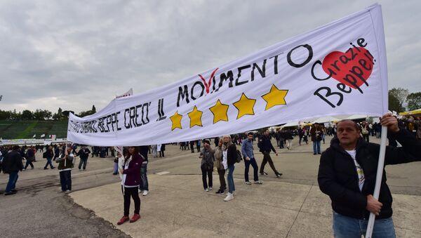 Sostenitori del Movimento 5 stelle (foto d'archivio) - Sputnik Italia