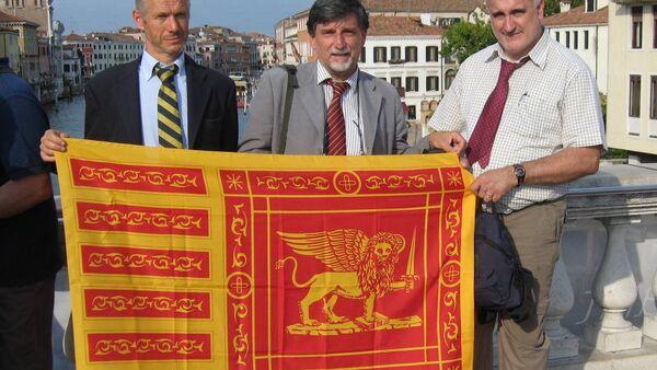 Bandiera Comitato Veneto indipendente - Sputnik Italia