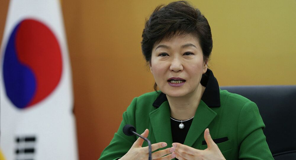 Presidente Corea del Sud Park Geun-hye
