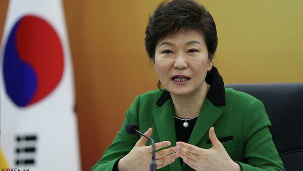 Presidente Corea del Sud Park Geun-hye - Sputnik Italia