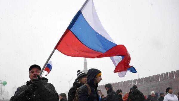 Le manifestazioni patriottiche La Russia nel mio cuore - Sputnik Italia