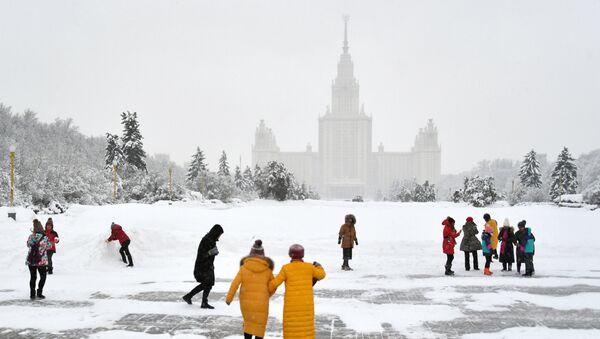 Nevicate a Mosca - Sputnik Italia