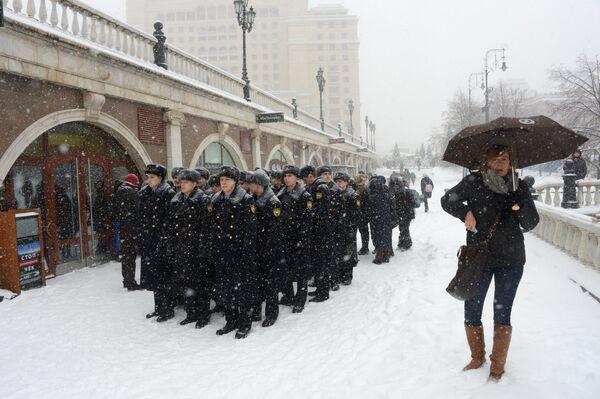 Passeggiata sotto la neve. - Sputnik Italia
