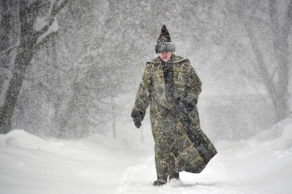 Il tempo non è un ostacolo per i russi!
