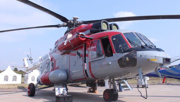 Elicottero Mi-171А2 equipaggiato per i lavori di ricerca e soccorso - Sputnik Italia