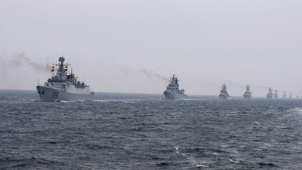 Chinese Navy warships - Sputnik Italia