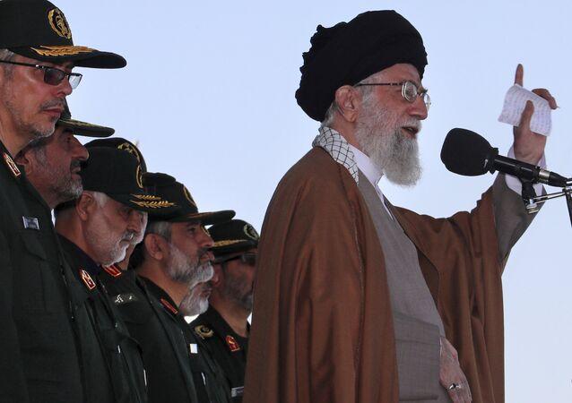 Il leader iraniano Ayatollah Ali Khamenei