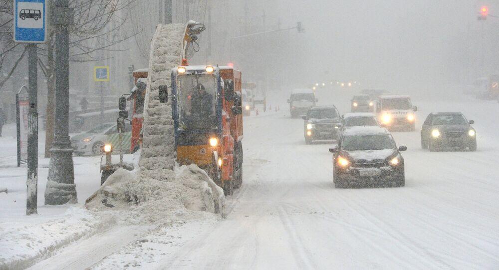 Nevicata a Mosca
