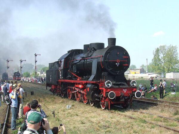 Una locomotiva polacca Ok22-31. - Sputnik Italia