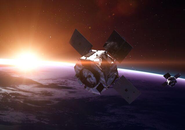 Satelliti nell'orbita terrestre
