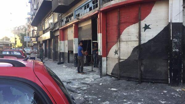 Explosion in Damascus - Sputnik Italia