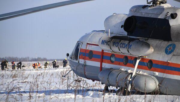 Il luogo dello schianto del An-148 - Sputnik Italia