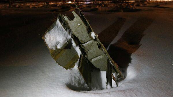 Il relitto dell'aereo An-148 - Sputnik Italia