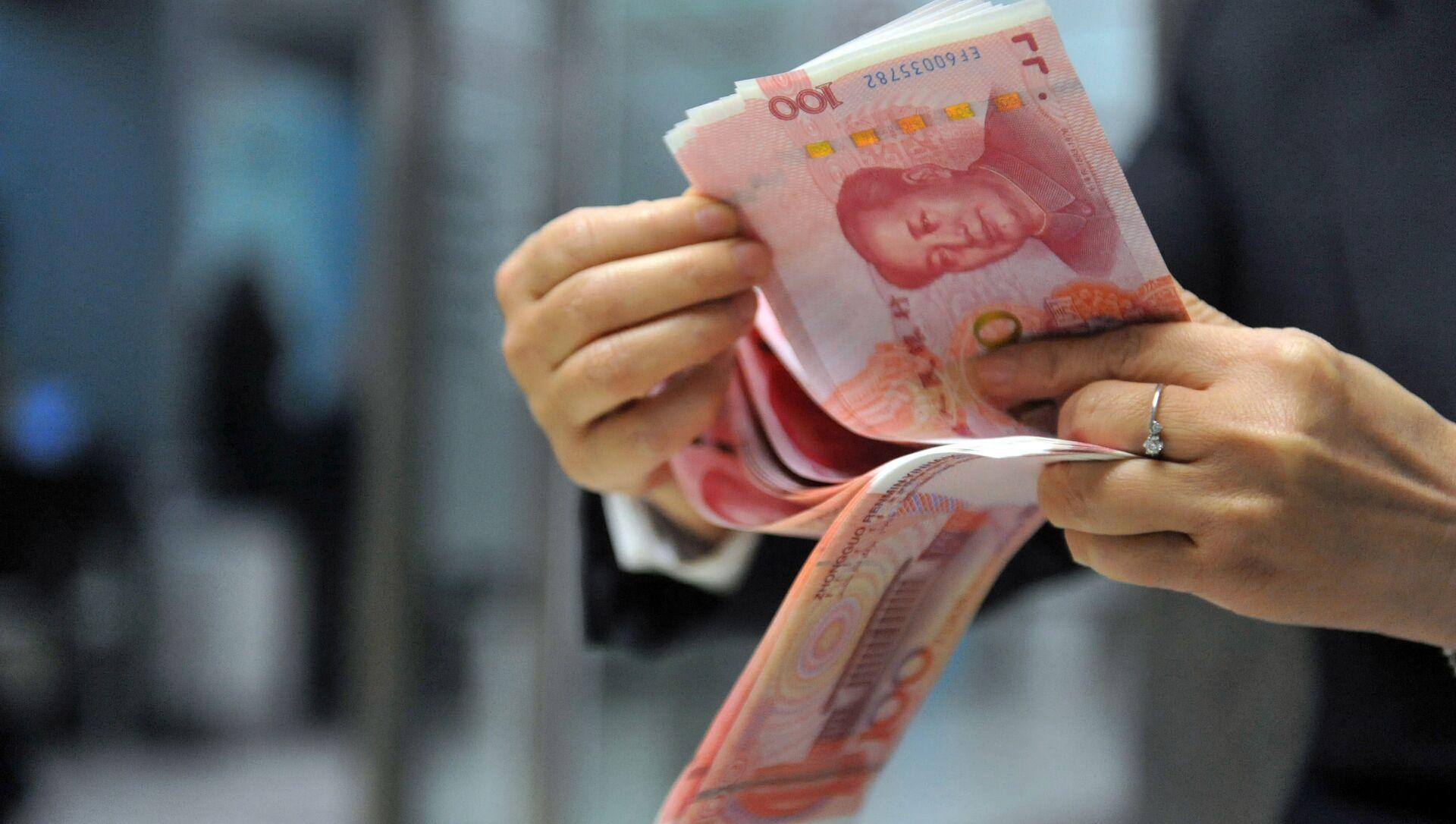 Banconote yuan - Sputnik Italia, 1920, 12.05.2021