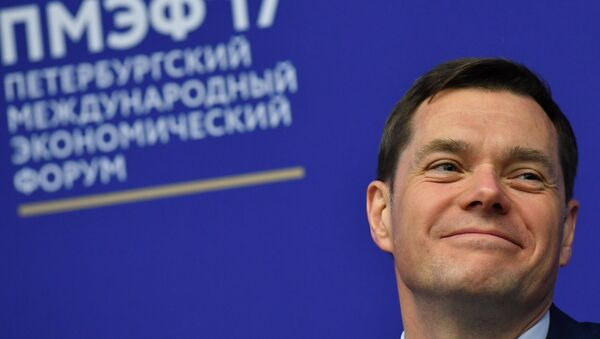 Il proprietario della compagnia mineraria e metallurgica Severstal, Alexei Mordashov - Sputnik Italia