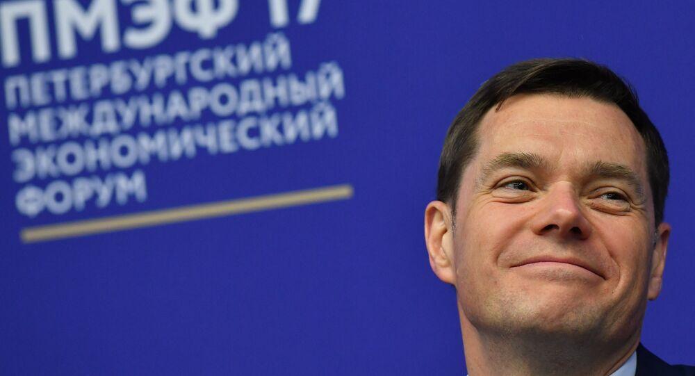 Il proprietario della compagnia mineraria e metallurgica Severstal, Alexei Mordashov